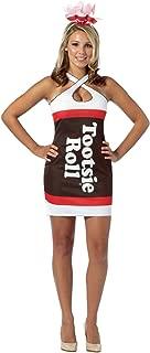 Women's Tootsie Roll Teardrop Dress