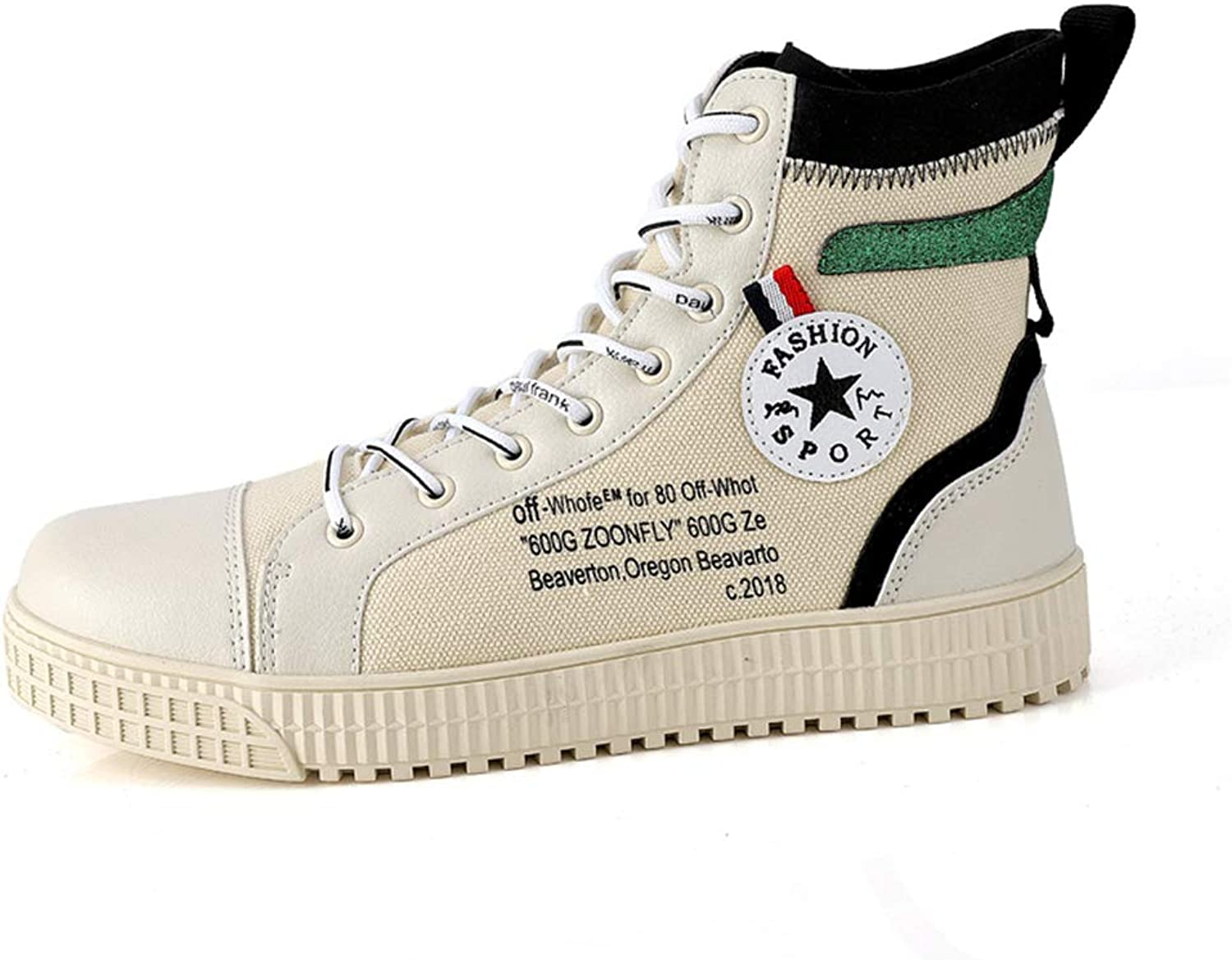 Canvas High Tops Sneakers Fashion Casual Lace up Canvas shoes for Women Men