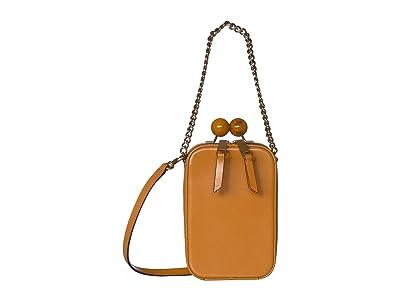 Marc Jacobs The Vanity Crossbody (Acorn) Handbags