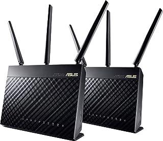 ASUS RT-AC68U AC1900 WiFi Router con Modem 2.4GHz, 5GHz