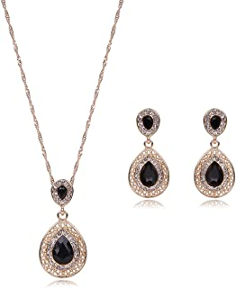 Best black and gold jewelry sets Reviews
