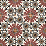 Azulejos marroquí de cerámica Medina 20 x 20 cm 1 m², azulejos de suelo y azulejos de pared en baño y cocina
