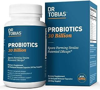 Dr. Tobias Probiotics 30 Billion CFU Supplement, 30 Capsules