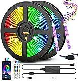 Best Strip Lights - LED Strip Lights, 32.8ft RGB Color Changing Rope Review