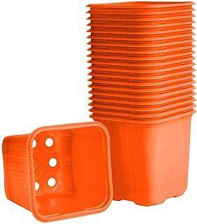 Weibulls Plastkrukor 8cm Orange 20st krukor