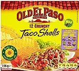 Old El Paso - 12 Crunchy Taco Shells - 156g