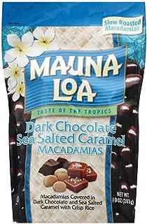 Mauna Loa Chocolate Covered Macadamia Nuts Bags (Milk, Dark, Coconut, Toffee & Caramel) (Dark Chocolate Sea Salted Caramel)