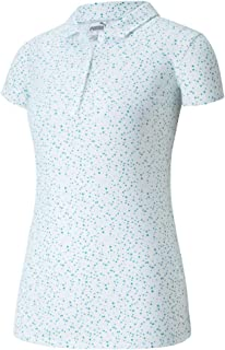 PUMA Golf Women's 2020 Cloudspun Speckle Polo