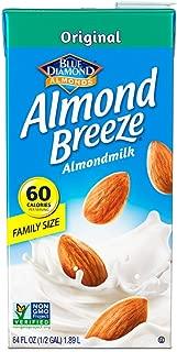 Almond Breeze Dairy Free Almondmilk, Original, 64 Ounce.