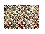 Alfombrista Diseño 31 Alfombra Moderna Acrílico Multicolor 60x110x1 cm