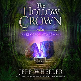 The Hollow Crown     Kingfountain, Book 4              Written by:                                                                                                                                 Jeff Wheeler                               Narrated by:                                                                                                                                 Kate Rudd                      Length: 9 hrs and 45 mins     Not rated yet     Overall 0.0