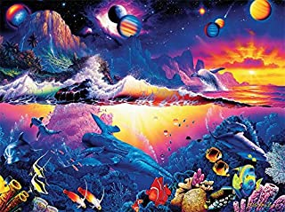 Ceaco Christian Riese Lassen Galaxy of Life Puzzle (1000 Pieces)