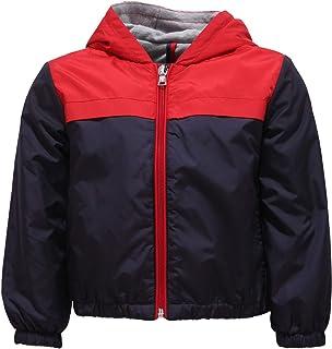 a5f35d6a52 Moncler 2745Y Giacca Antivento Bimbo Boy IZON Blue/Red Wind Stopper Jacket