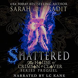 Shattered: The House of Crimson and Clover Book Series Prequel audiobook cover art