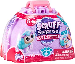 Little Live Pets Scruff Surprise Vet Rescue Collect Them All ( Styles May Vary)