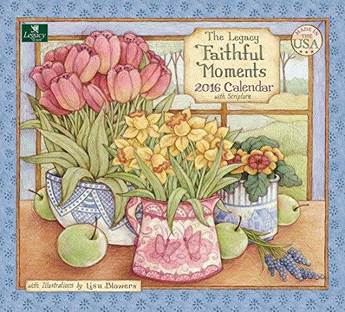 Legacy Publishing Group 2016 Wall Calendar, Faithful Moments (WCA19728)