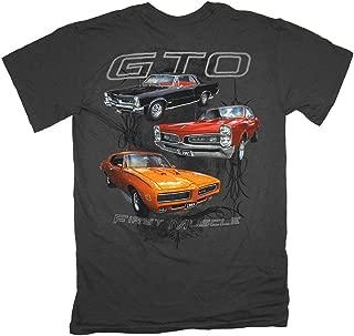 Gildan Men's Pontiac First Muscle 3 GTOs T-Shirt