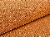 5 Meter Polsterstoff Webstoff Bezugstoff Aura 07 Orange