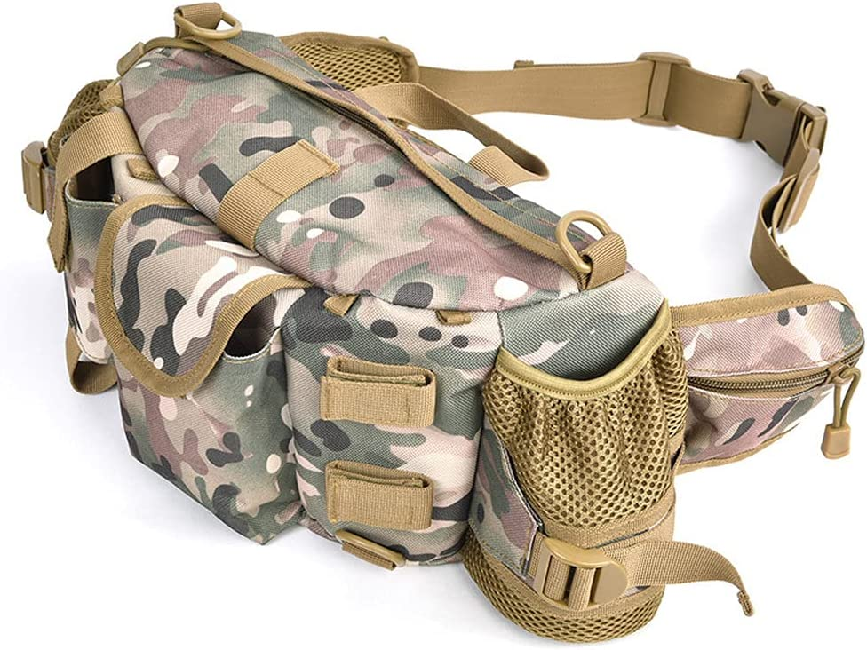 Classic Mail order cheap Hunting Tactical Waist Pack with Water Manufacturer OFFicial shop Lar Holder Bottle