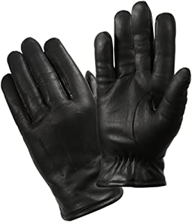 Cold Weather Leather Thinsulate Police Gloves