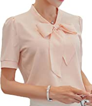 JXGP Womens Loose Sleeveless Doll Collar Chiffon Tank Tops Vest Blouse