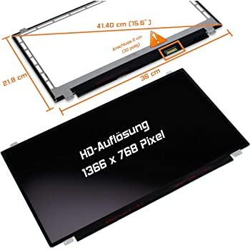 Laptiptop Lenovo FRU 5D10H52713 LED Display Screen 15,6 matt 1366x768 WXGA HD Panel Bildschirm