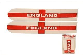 Pack of 10 Inflatable England Flag Bang Bang Bats/ Sticks - Noisemakers - 2018 World Cup