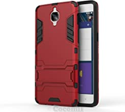 Cocomii Iron Man Armor OnePlus 3/3T Case New [Heavy Duty] Premium Tactical Grip Kickstand Shockproof Hard Bumper Shell [Military Defender] Full Body Dual Layer Rugged Cover for OnePlus 3 (I.Red)