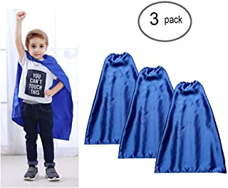 YIISUN Christmas Dress Up Costumes Children Capes(Pack of 3)