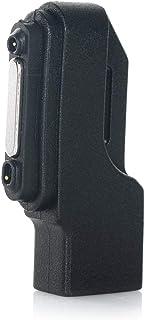 Xperia用 充電 変換 アダプタ ブラック microUSB-マグネット端子 Sony Xperia Z1 / Z2 / Z3 用 マグネット アダプター チャージングアダプター 変換充電器 ソニー Xperia Z1/Z2/Z3用 マイクロファイバークロス付き