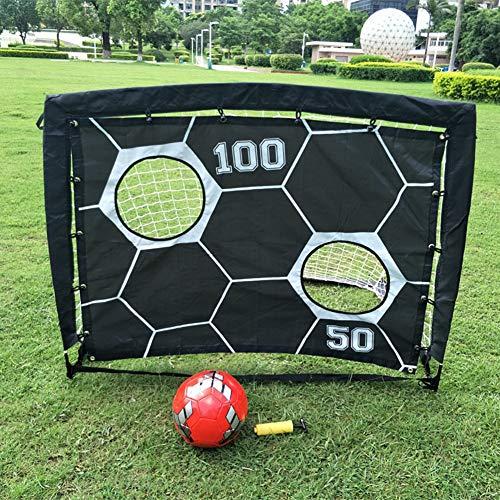 ZJM Foldable Children Pop-up Play Goal, Lacrosse Field Hockey & Street...