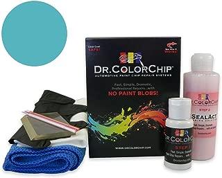 Dr. ColorChip GMC Safari Automobile Paint - Light Quasar Blue Metallic 20/WA9790 - Squirt-n-Squeegee Kit