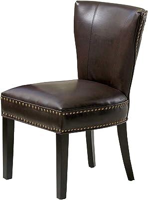 Surprising Amazon Com Design Tree Home Adele Dining Chair In Brown Machost Co Dining Chair Design Ideas Machostcouk