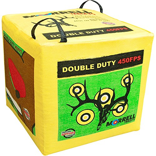 Morrell Double Duty 450FPS Field Point Bag Archery...