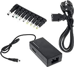 BeMatik - Chargeur et Alimentation Adaptateur Universel pour Ordinateur Portable 12-24 VDC 96W 5A