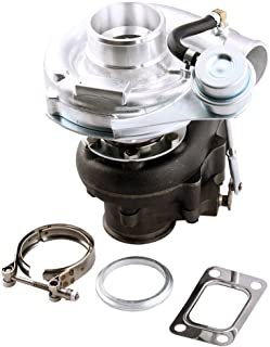maXpeedingrods T04E T3T4 .63A/R Anti-Surge V-band Turbo 420+HP T3 T4 Turbocharger Compressor Internal Wastegate