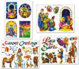 Nativity Christmas Window Clings Decals