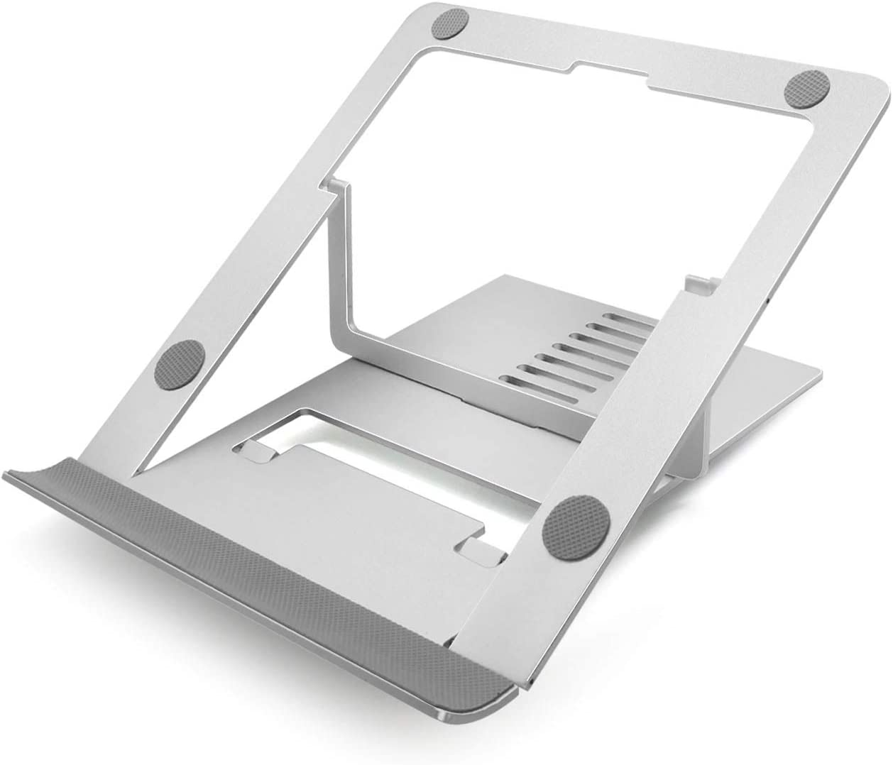 Laptop Stand, Ergonomic Portable Aluminum Laptop Mount Computer Stand, YuanFan Collapsible Laptop Riser Notebook Holder Stand for More 10-17