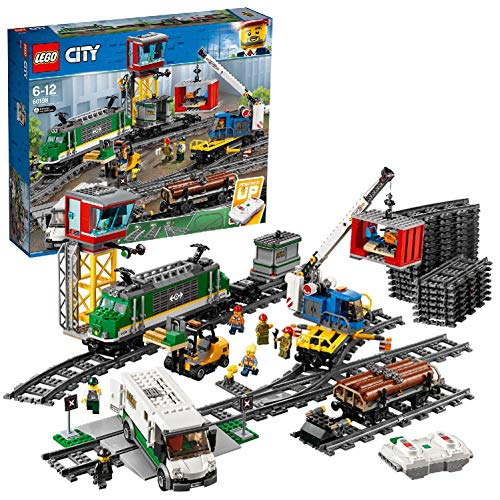 LEGO City Treno Merci, Multicolore, 60198