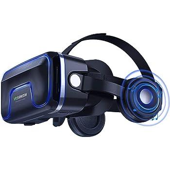 VR Casque de réalité virtuelle 3D VR Lunettes pour Jeux et Films Virtuelle Lunettes Casque avec Autres Smartphones sous Android 4,7 à 6,0