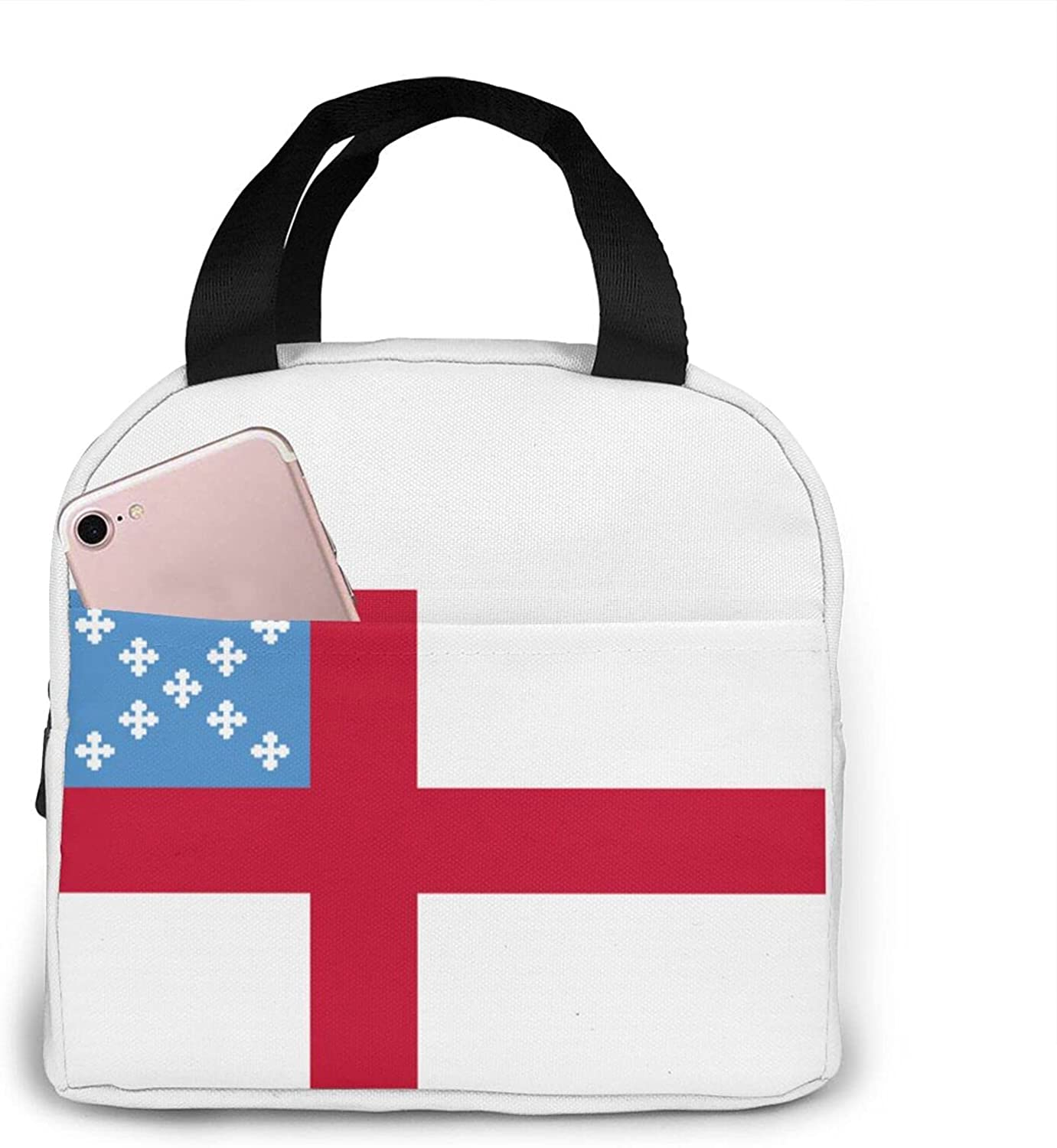 Episcopal Flag Convenient Insulated Thermal High 4 New sales years warranty Lunch Bag Tote