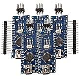 ✅ Sichern Sie sich jetzt drei AZDelivery Nano V3.0 mit Atmega328 CH340 kompatibel mit Nano V3 inklusive E-Book! ✅ Maße (LxBxH): 45 x 18 x 7,5 mm (inkl. überstehender Bauteile); Pinout- und Code-kompatibel zum Nano V3! ✅ ATmega328P-Chipsatz mit 16 MHz...