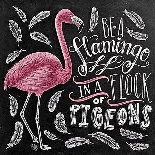 Diopn 5D Diamant Schilderen Volledige DIY Krijtbord Tekenen Borduurwerk Mozaïek Bloem Rode Wijn Liefde Flamingo Cross Stitch Thuis Muurstickers 30*40
