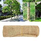 Redxiao 【 】 Protección de árboles, Protector de árboles Cubierta de árbol de Tela de Yute, Accesorios de jardín Mantenimiento de árboles para jardín