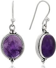 Best amethyst vintage earrings Reviews