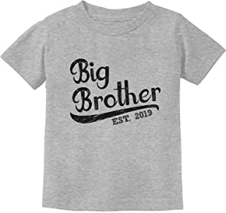 Tstars - Gift for Big Brother 2019 Toddler Kids T-Shirt
