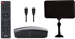 eXuby Digital Converter Box for TV, Antenna, HDMI and RCA Cable - Complete Bundle to View, Record HD Channels Instant or S...