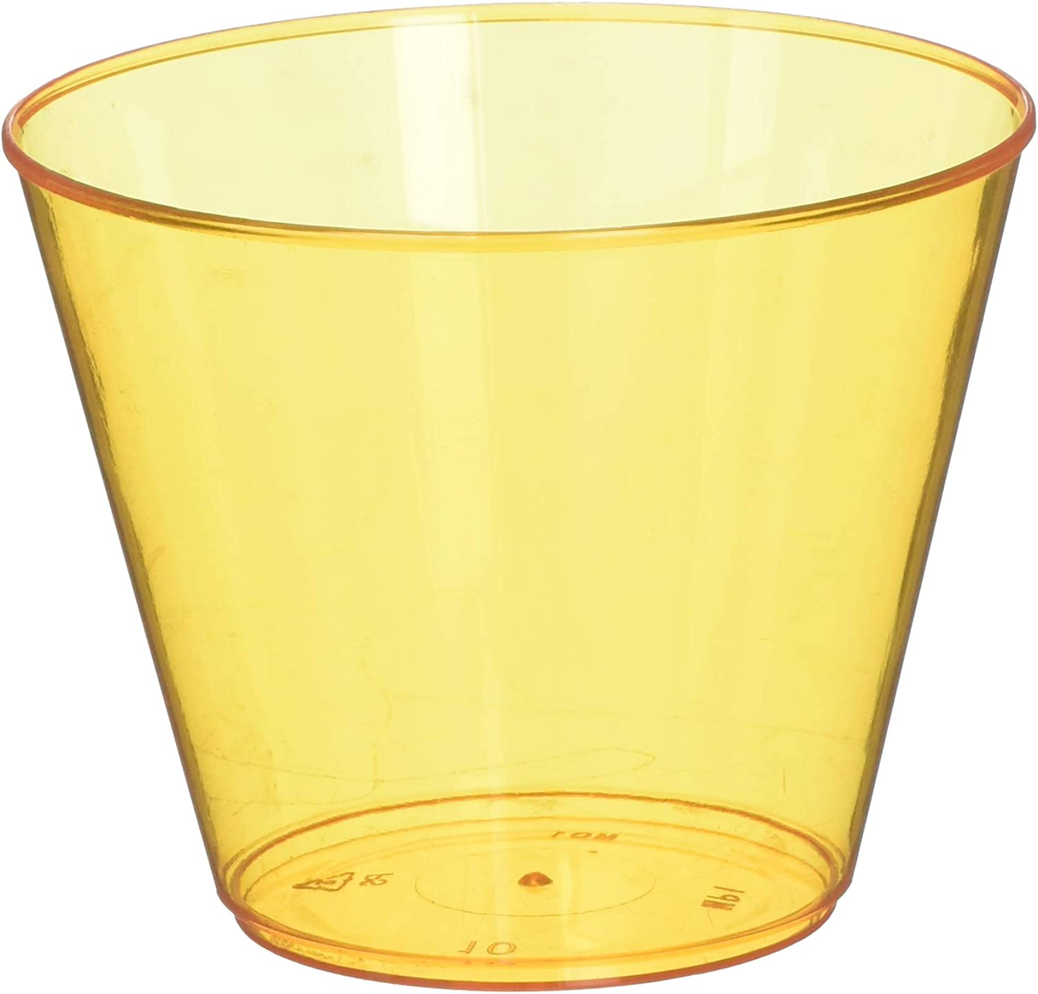 Big Party Pack Orange Peel Plastic Cups | 9 oz. | Party Supply |