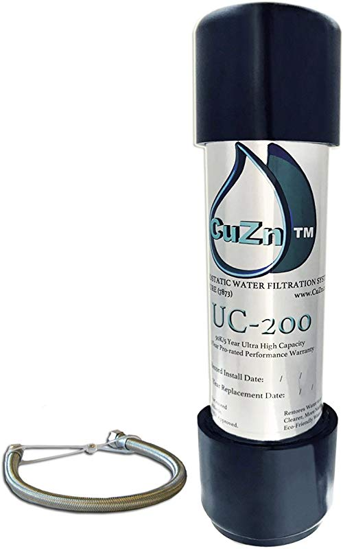 CuZn UC 200 Under Counter Water Filter 50K Ultra High Capacity Made In USA