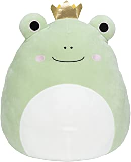 Squishmallow 16-Inch Frog Prince - Add Baratelli to Your Squad, Ultrasoft Stuffed Animal Large Plush Toy, Official Kellyto...